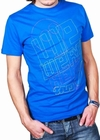 WE WERE HERE - SHIRT - BLAU